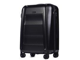 Duża walizka PUCCINI PC017 A czarna