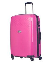 Średnia walizka PUCCINI PP010 różowa